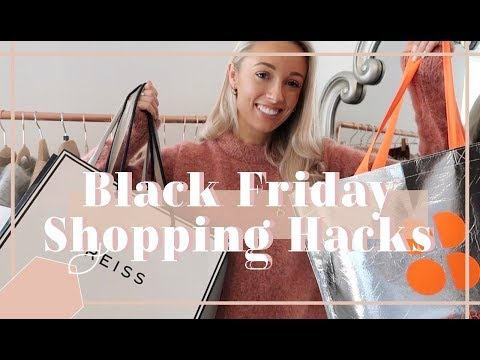 BLACK FRIDAY 2018 SHOPPING HACKS //  Fashion Mumblr