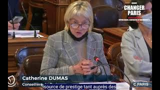 Intervention Conseil de Paris sur l'entretien de l'Hôtel de Ville