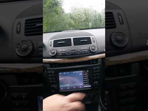China Radio für W211.  Umbau/Nachrüsten
