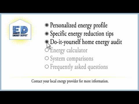 Use Energy Depot Today!