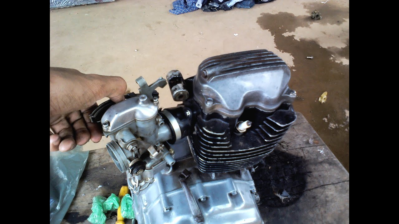 Motor de cg125 no gás