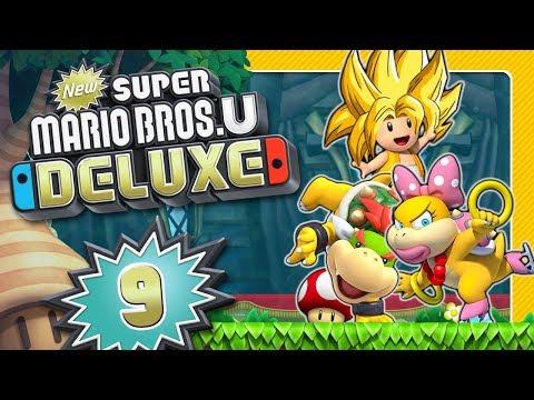 NEW SUPER MARIO BROS. U DELUXE 🌰 #9: Super Saiyajin Toad gegen Wendy und Bowser Jrs. Luftschiff