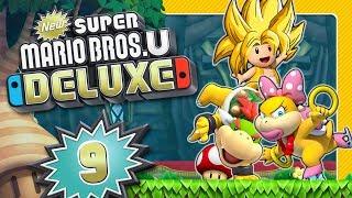 Super Saiyajin Toad gegen Wendy und Bowser Jrs. Luftschiff 🌰 NEW SUPER MARIO BROS. U DELUXE #9