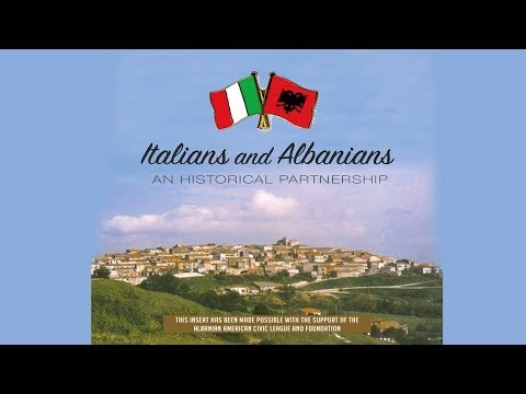 Italian American Museum Presentation of Albanians in Italy by Joe and Shirley DioGuardi 11-30-17
