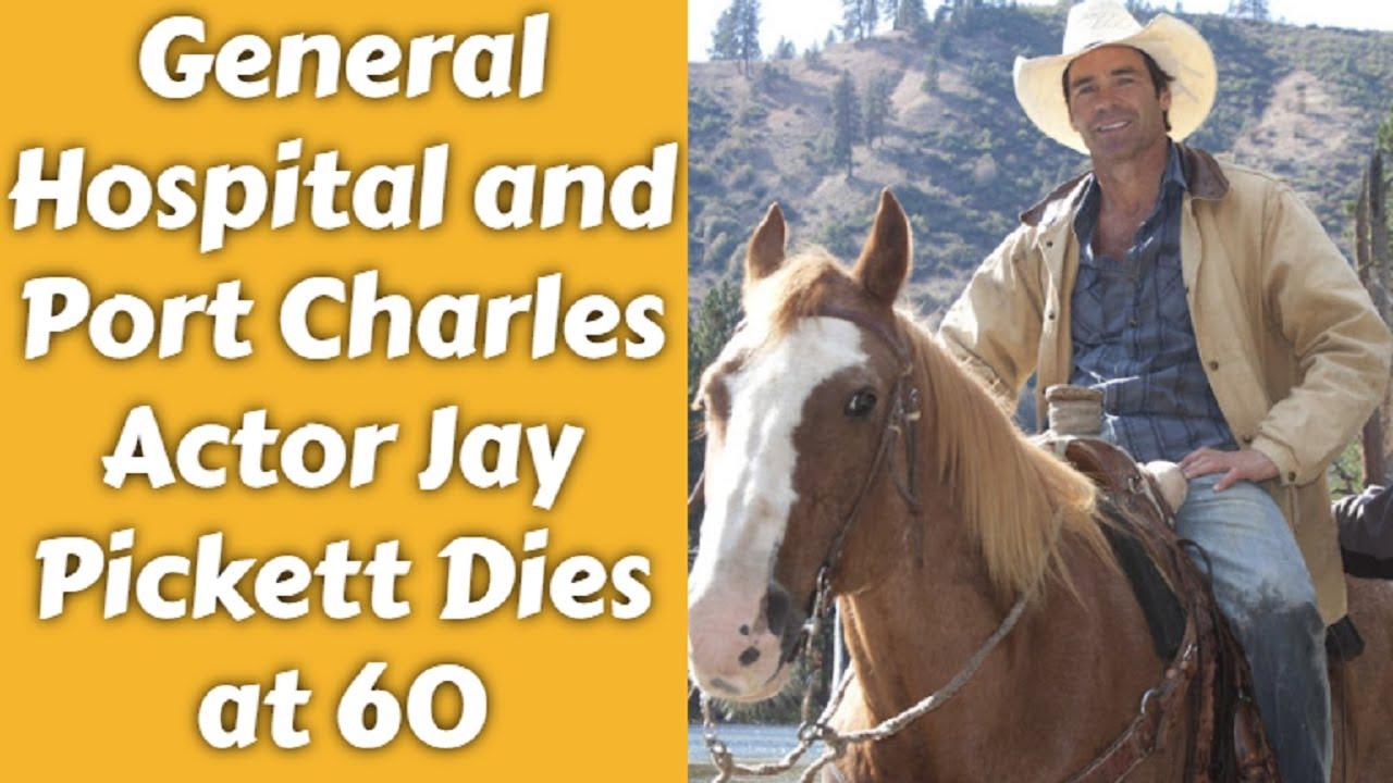 Jay Pickett, 'General Hospital' actor, dies at 60