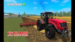 Farming Simulator 2017. НОВОСВІТЛІВКА. Трактор Беларус МТЗ-3022 ДЦ. КУЛЬТИВАТОР КПМ-8.