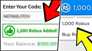 How To Redeem Free Robux In 2019 Still Working Azgeda
