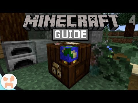 Cartography Table & MAPS! | The Minecraft Guide - Minecraft 1.14 Lets Play Episode 4
