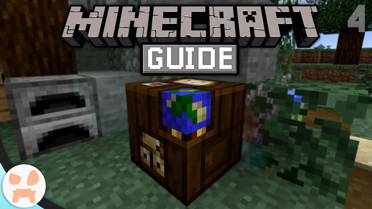 Cartography Table & MAPS! | The Minecraft Guide - Minecraft 1 14 Lets Play  Episode 4