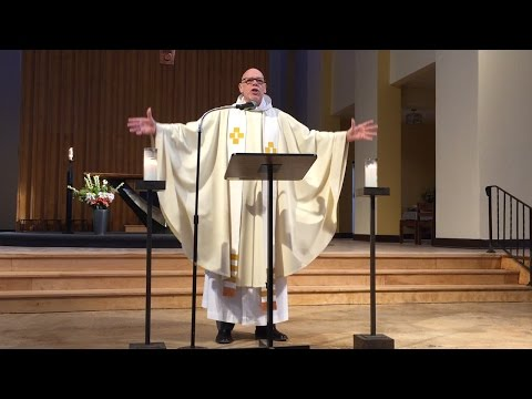 Rev. Frank Dunn's final service at St. Stephen and the Incarnation