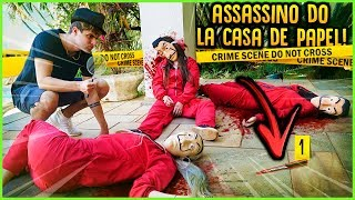 ASSASSINOS: O ASSASSINO DO LA CASA DE PAPEL!! ( MINI GAME NOVO ) [ REZENDE EVIL ]