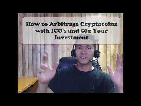 ICO Initial Coin Offering Arbitrage and Selling Plan Overview with IUNGO