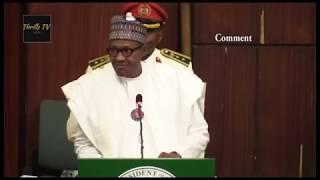"Shocking! Lawmakers Call Buhari ""Liar"" During Budget Presentation"