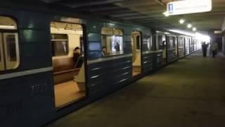 номерной на станции Филевский парк