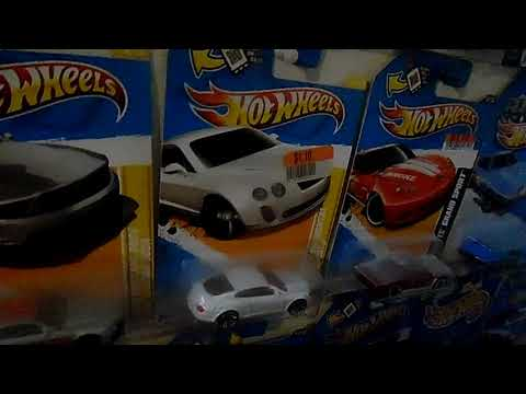 Bentley Continental GT review by Hot Wheels and a Dodge Viper by Hot Wheels