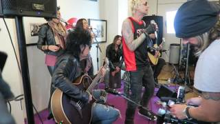 SIXX:A.M. - Prayers for the Damned Live Unplugged @ OUI FM - 01/06/2016