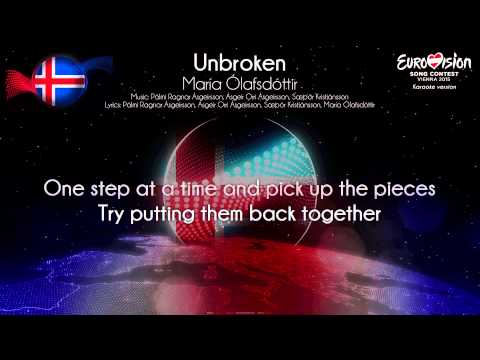 "María Ólafsdóttir - ""Unbroken"" (Iceland) - [Karaoke version]"
