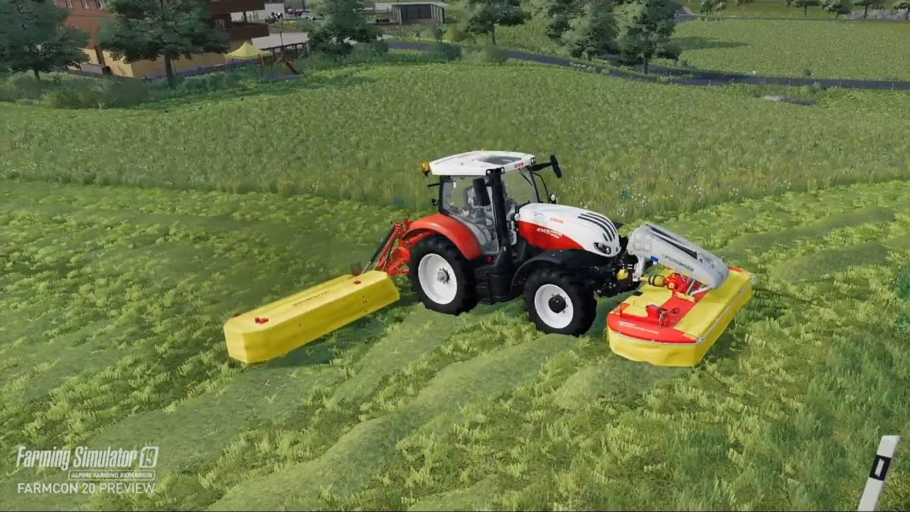 Farming Simulator 19 DLC Alpine Expansion - Gameplay