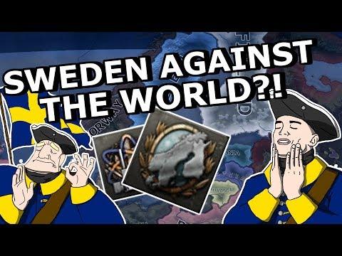 SWEDEN AGAINST THE WHOLE WORLD?!  - HOI4 NORTHERN LIGHTS ACHIEVEMENT RUN!