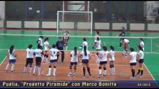 12-03-2015: Progetto Piramide in Puglia con Marco Bonitta