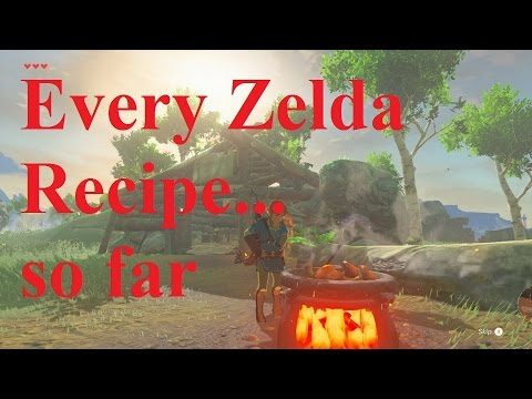 Every recipe in zelda breath of the wild far youtube every recipe in zelda breath of the wild far forumfinder Images