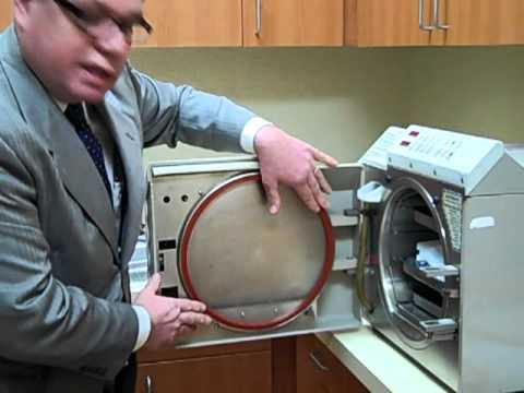 Midmark MD-11: Sterilizer Autoclave Gasket Installation