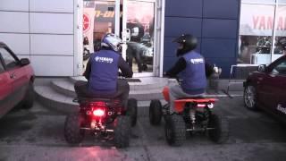 Квадроцикл Comman EGL Raptor 125 против  квадроцикла Comman ATV 125сс Hamer Lux