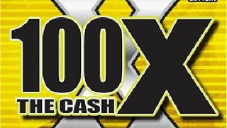 WINNER! $20 100X The Cash #1 Texas Lottery Scratch Off