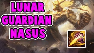 NEW LUNAR GUARDIAN NASUS JUNGLE | EASY STACKS EASY LIFE | ONE SHOT | League of Legends