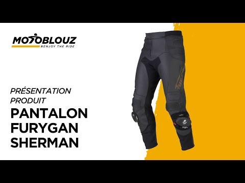 Motoblouz Vidéo Furygan Par Pantalon ShermanAvis Youtube En Yy76vbfg
