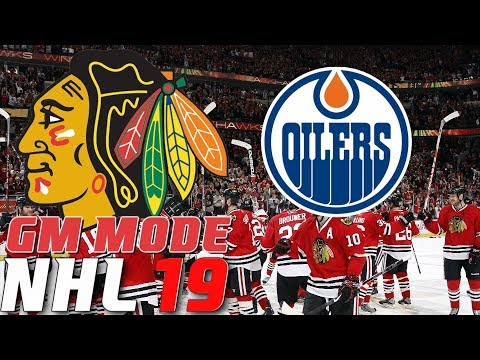 ROUND ONE EDMONTON - NHL 19 - GM Mode Commentary - Chicago ep. 13