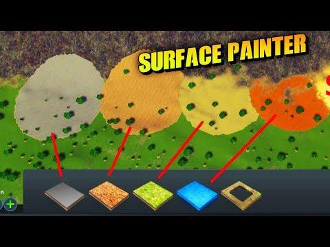 Cities: Skylines MODS [Surface Painter] + Full Installation
