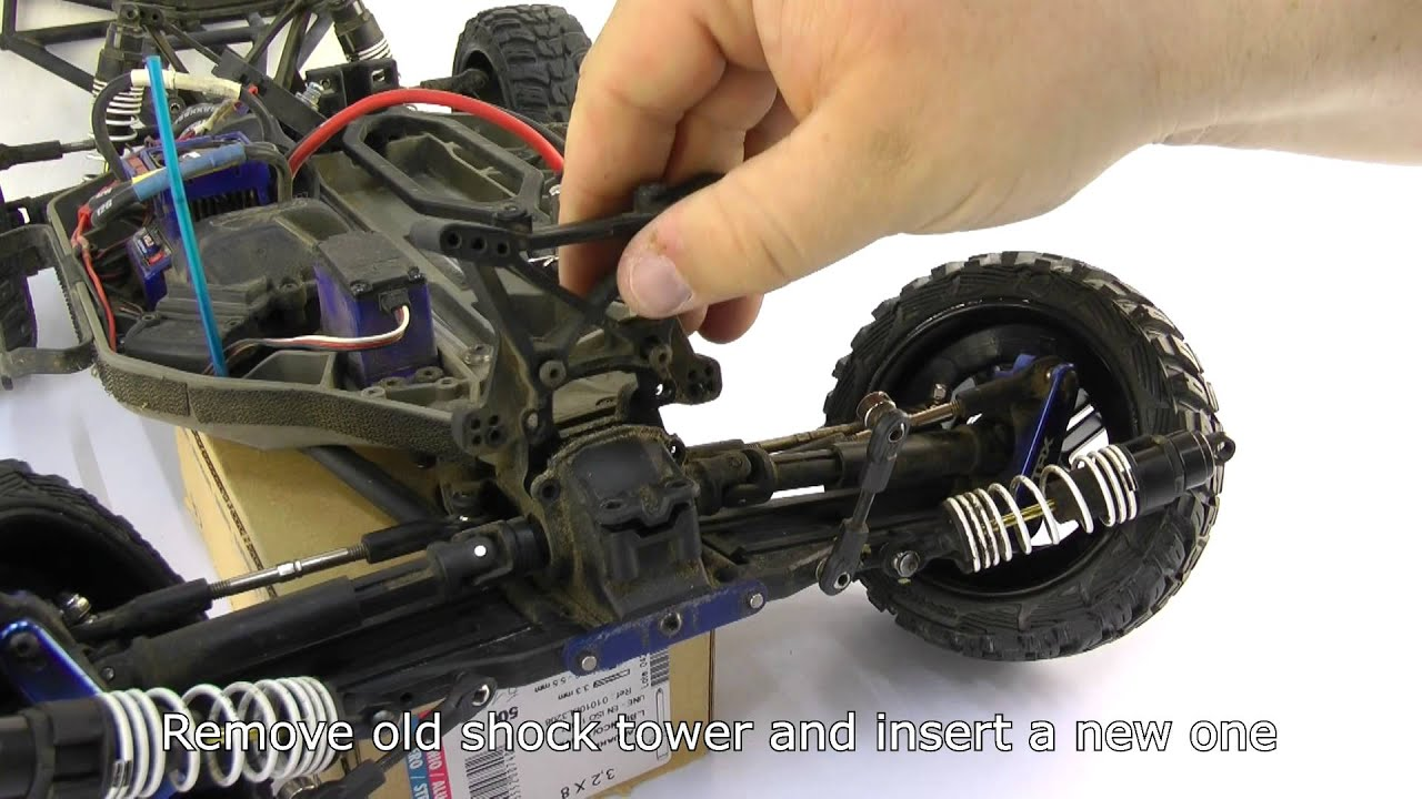 How To Change Traxxas Slash 4x4 Shock Towers Additionally Slipper Clutch On Parts Diagram