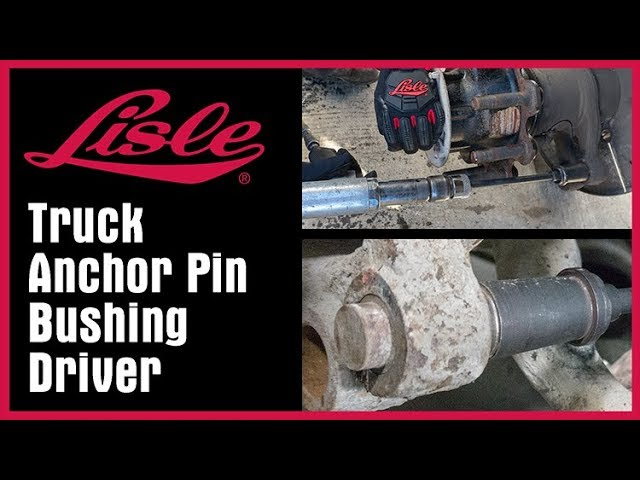 TRUCK ANCHOR PIN BUSHING DRIVER TRUCK LEAF SPRING BUSHING REMOVER MADE IN USA