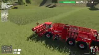 Amerykańska Farma, Wielkie Maszyny   Farming Simulator 19 - Na żywo