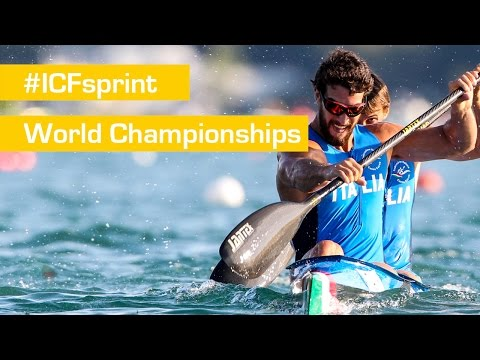 REPLAY: Saturday B & C FINALS | 2015 ICF Canoe Sprint World Championships | Milan