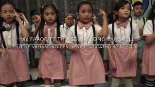 MY FAVORITE THINGS / SO LONG FAREWELL by the Little Valiant Voices