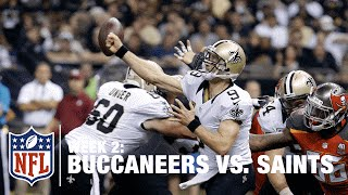 Drew Brees Gets Picked Off in the Second Half | Buccaneers vs. Saints