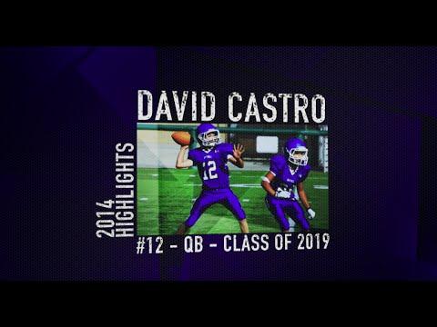 David Castro 2014 Football Highlights