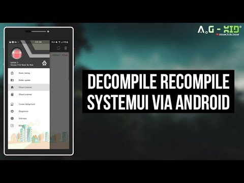 Decompile Recompile SystemUI.apk Via Android | Apktool | Samsung Galaxy J5 2016 | Nougat 7.1