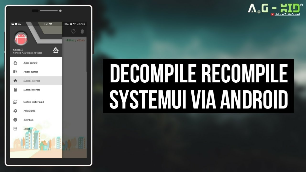 Decompile Recompile SystemUI apk Via Android | Apktool | Samsung Galaxy J5  2016 | Nougat 7 1