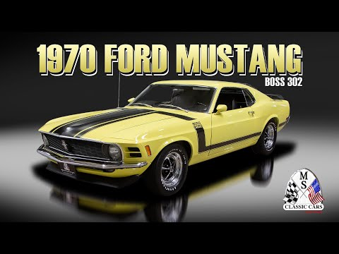 1970 Ford Mustang Boss 302 MS CLASSIC CARS