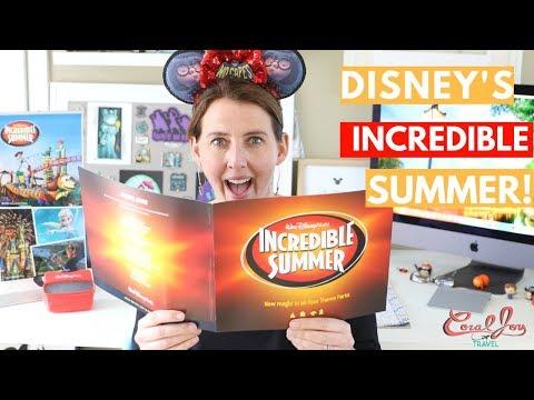 Incredible Summer   Walt Disney World 2018
