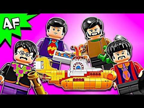 Lego Ideas The BEATLES Yellow Submarine 21306 Speed Build