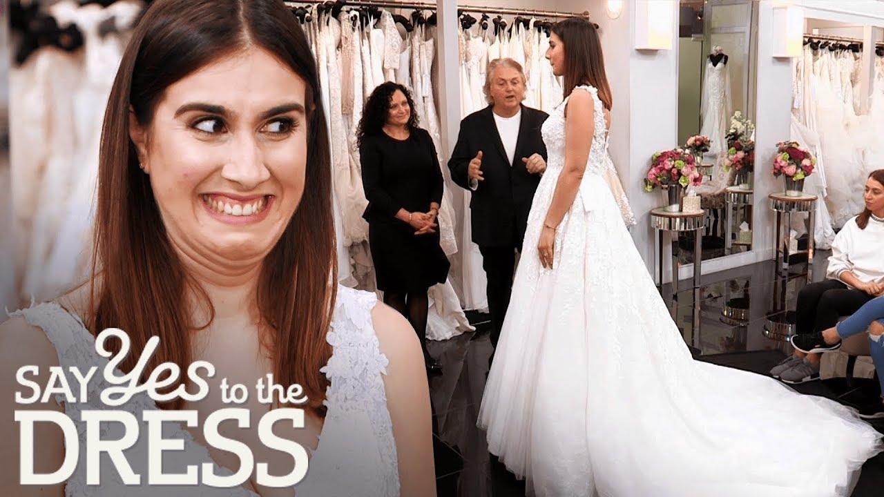 Bride Wants a Big Greek Wedding But Not a Big Greek Dress!   Say Yes To The Dress UK