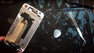 Замена дисплея  HTC ONE E9s dual sim / HTC ONE E9s dual sim how to disassemble