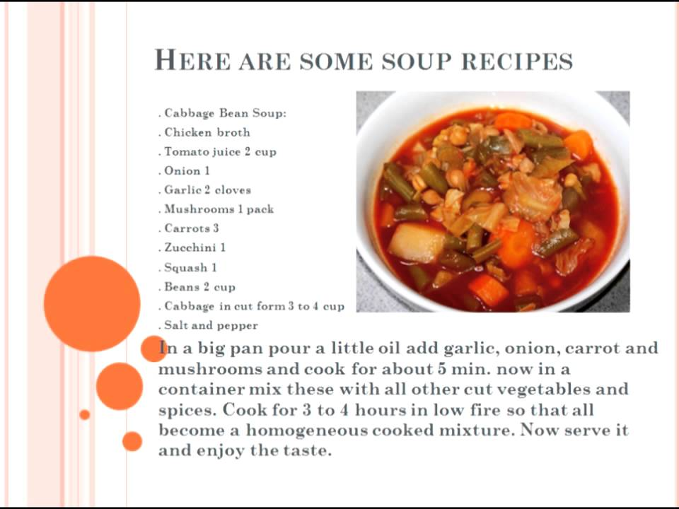 good soup recipes to lose weight