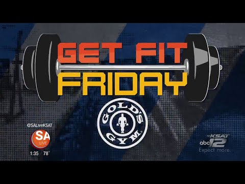 Get Fit Friday: Gold's Gym Dedication Week | SA Live | KSAT 12