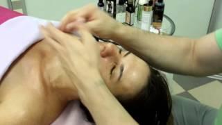 скульптурный массаж лица. ручная пластика лица видео 10