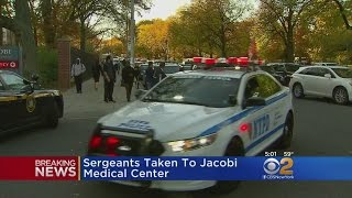 Sea Of Blue At Jacobi Hospital